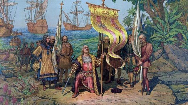 Arribada de Cristòfor Colom a Amèrica