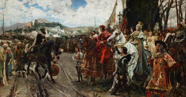 Conquesta de Granada pels reis Catòlics