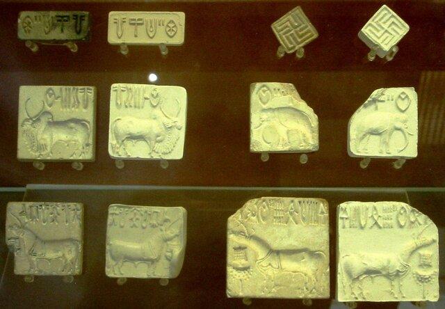 Надписи на печатях из долины Инда