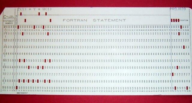 El primer lenguaje de programación real