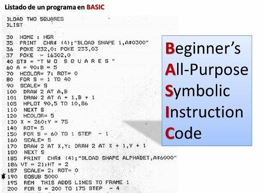El nacimiento de BASIC
