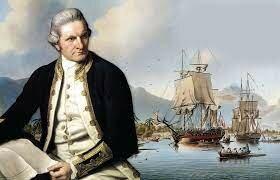 Captain James sailed