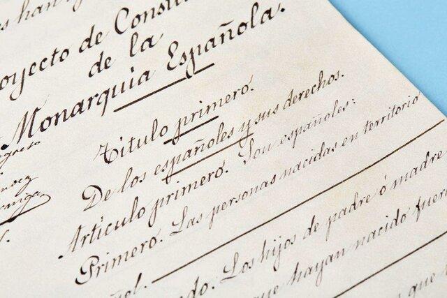 constitución de 1876