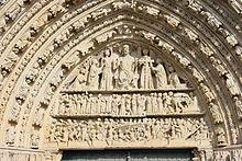 fachada de la catedral de poitiers