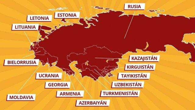 Conformación de la URSS, 1922.