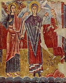 Anunciación de la iglesia de Sant Pere de Sorpe