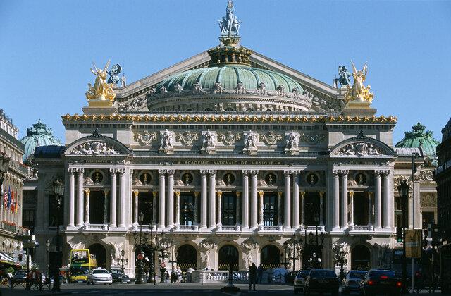 Palais Garnier aka Paris Opera House