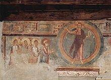 Cristo triunfante con los apóstoles de la iglesia de San Ambrosio Viejo
