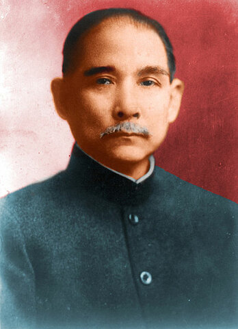 October- Sun Yixian's Revolutionary alliance succeeded in overthrowing the last emperor of the Qing Dynasty