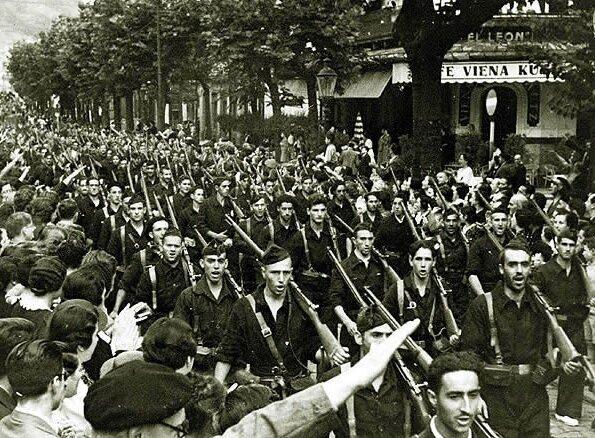 Inicio de la Guerra civil Española 1.2