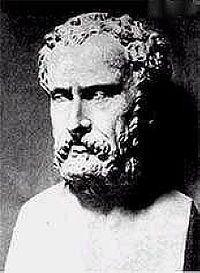 Jenófanes exalta la sabiduría como virtud máxima y fin de la educación, desdeñando la educación heróica