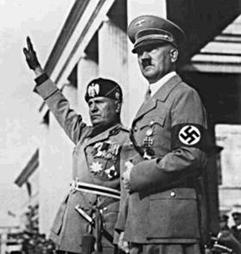 La Alemania nazi y la Italia fascista se hacen amigas