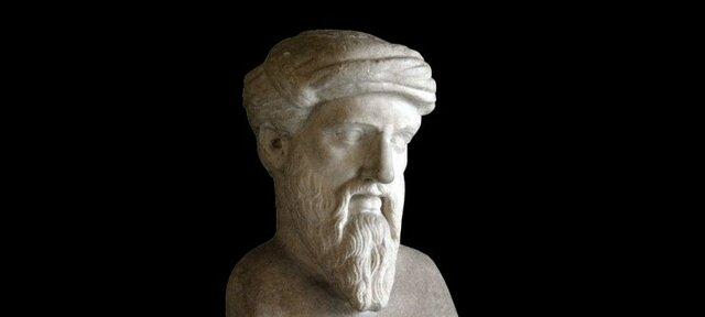 Pitágoras abre una escuela y crea la educación disciplinaria formal, semejante a una enseñanza por currículum. Defiende la educación aristocrática, o para unos pocos.