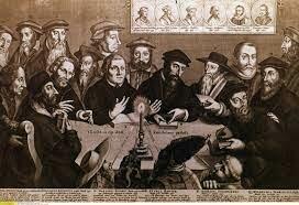 Inicio de la reforma protestante por parte de Martin Lutero.
