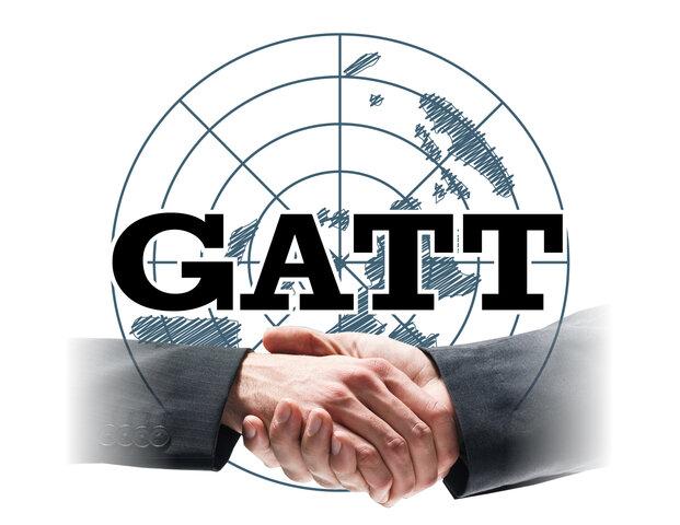 Firma del GATT en Ginebra