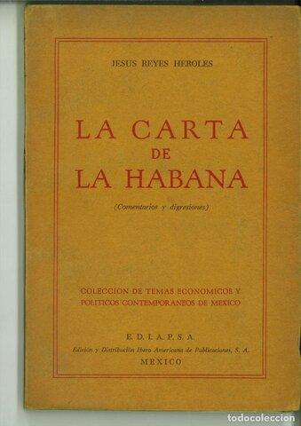 Carta de La Habana