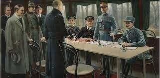 Francia firma un armisticio con Alemania