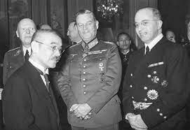 Firma del pacto Tripartido o Eje Berlín-Roma-Tokio