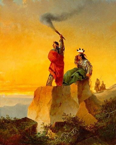 1300 a.C. FOGATAS PARA COMUNICARSE