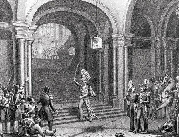 Asalto al Palacio Real
