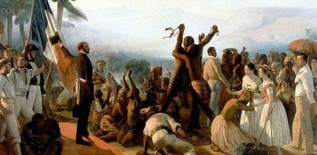 Abolición de la esclavitud en los EEUU.