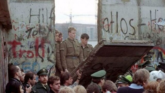 Caída del muro de Berlín y reunificación de Alemania