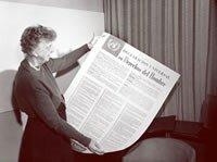 Hecho significativo: Se funda la ONU y se anuncia la declaración de los Derechos humanos