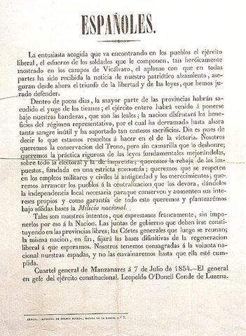 Manifiesto de Manzanares