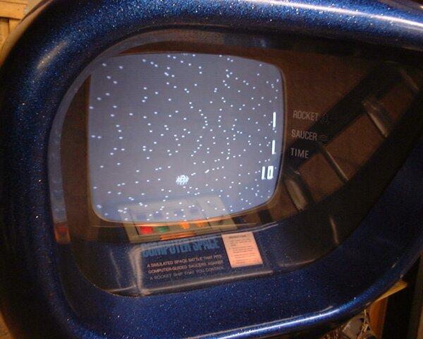 Nolan Bushnell y Computer Space