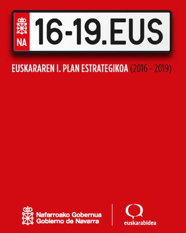 Nafarroako Euskararen I. Plan Estrategikoa (16-19)