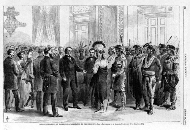 """Desplazamiento indígena (""""Indian Removal Act"""")"""