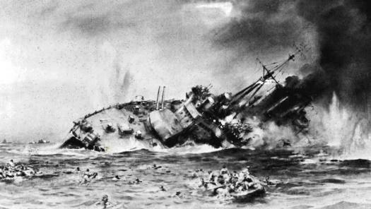 La batalla del mar de java