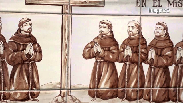 Franciscanos en la Nueva España