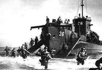 El desembarco aliado en Sicilia