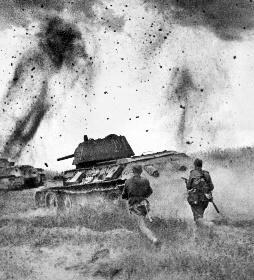 Los alemanes organizaron una ofensiva más en Kurs
