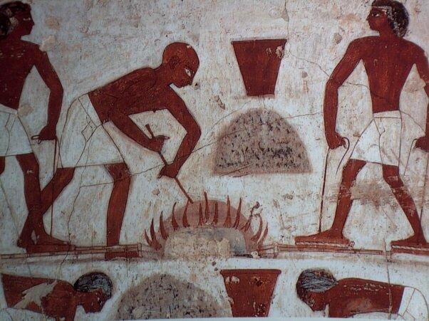 1.000 - 400 a.C egipcios