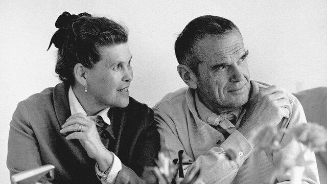 Charles (1907-1978) y Ray Eames (1912-1988)
