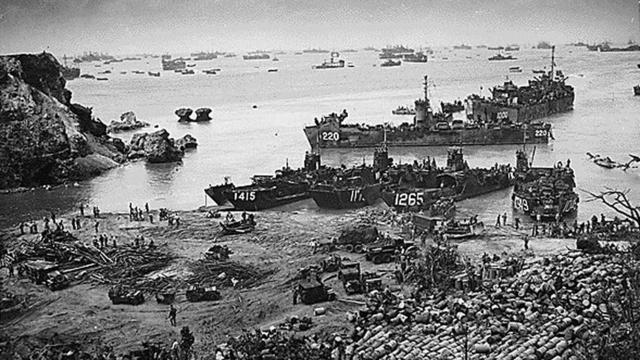 """""""EE.UU derrota a Japón en la batalla de Okinawa"""""""