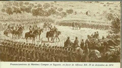 Pronunciamiento de Martínez Campos