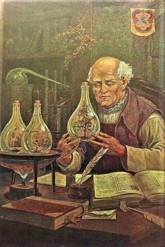 1.501 La iatroquímica o yatroquímica Iatroquímica