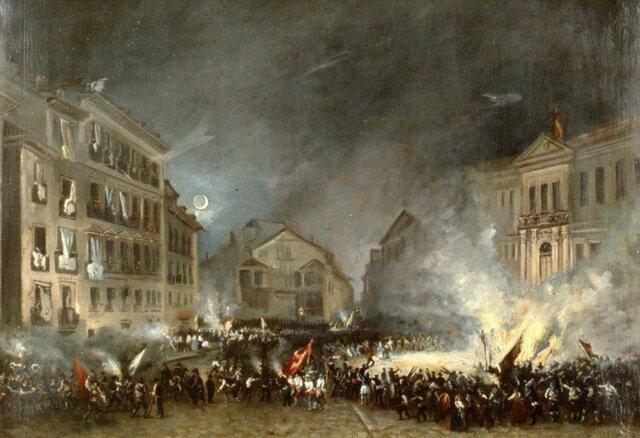 la revolucion de 1854 fin de la decada moderada