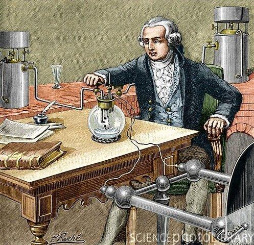 1.777 Antoine Lavoisier Padre de la quimica moderna