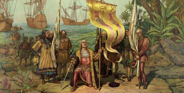 Los europeos llegan a tierras americanas