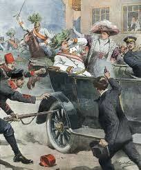 Archduke Franz Ferdinand is assassinated