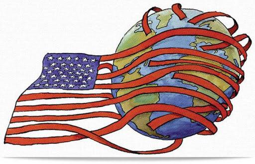 Dominio político, militar y hegemonía económica de los Estados Unidos.