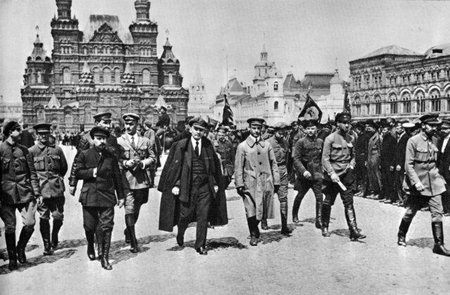 REVOLUCIÓN BOLCHEVIQUE RUSIA