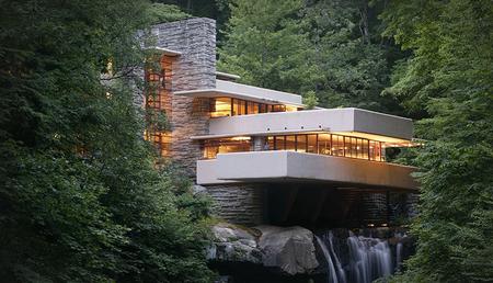 La Casa de la Cascada y el Museo Guggenheim de NY