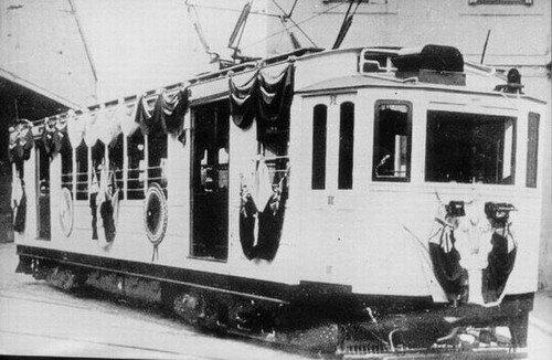 Tramways eléctrico en Caballito