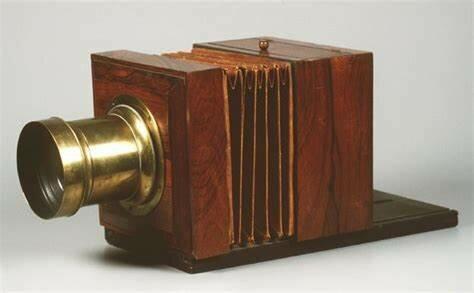 The Daguerreotype Camera is Create