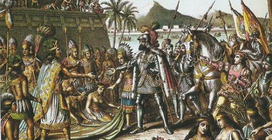 Expedición de Cortés y conquista de México-Tenochtitlán (1519-1521)